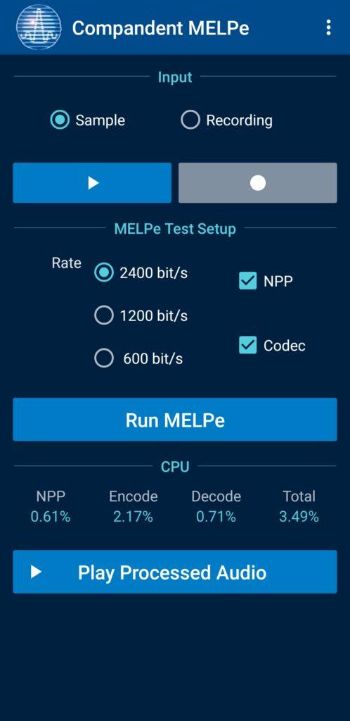 Compandent MELPeApp_2